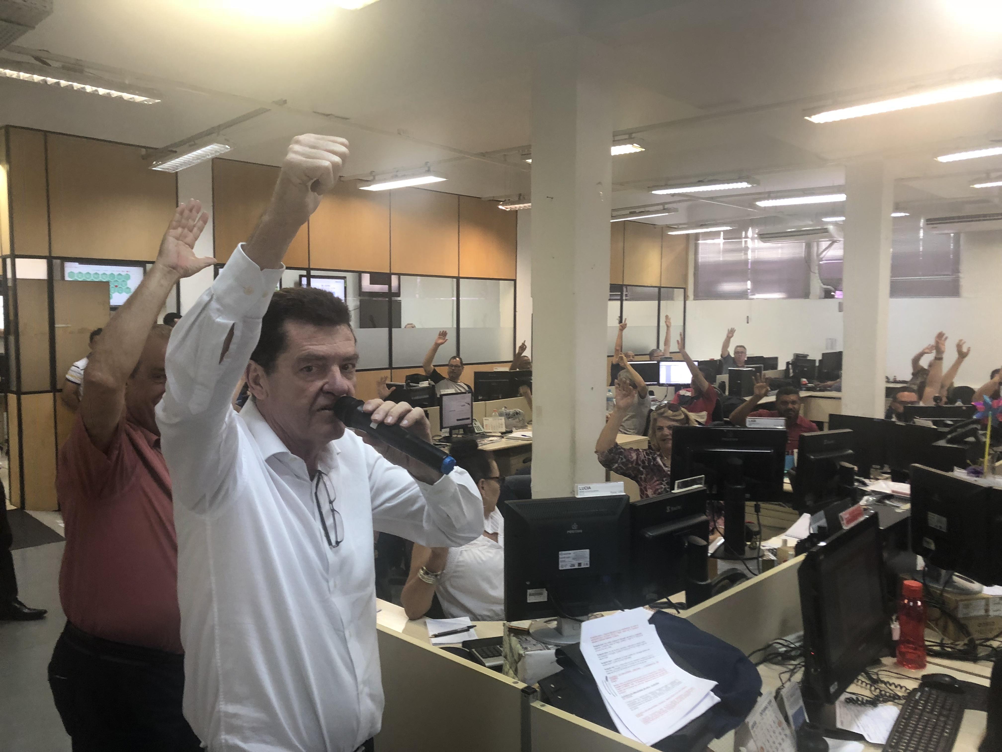 Trabalhadores da Prodam realizam assembleia e aprovam pauta de Acordo Coletivo de Trabalho