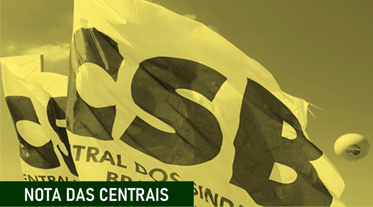 Centrais Sindicais divulgam carta aos senadores antes da votação do 1º turno da Reforma da Previdência