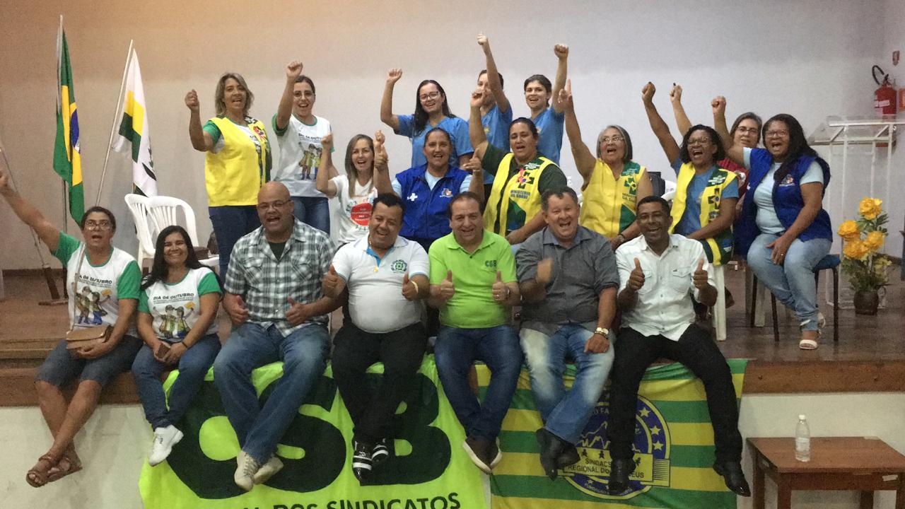 Corumbá de Goiás sedia assembleia dos agentes comunitários de saúde da região dos Pireneus