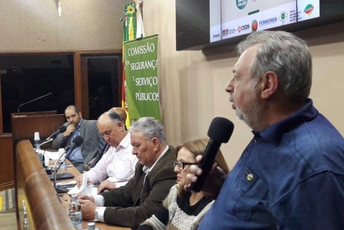 Em nova audiência, CSB marca presença contra a privatização do IPE-Saúde