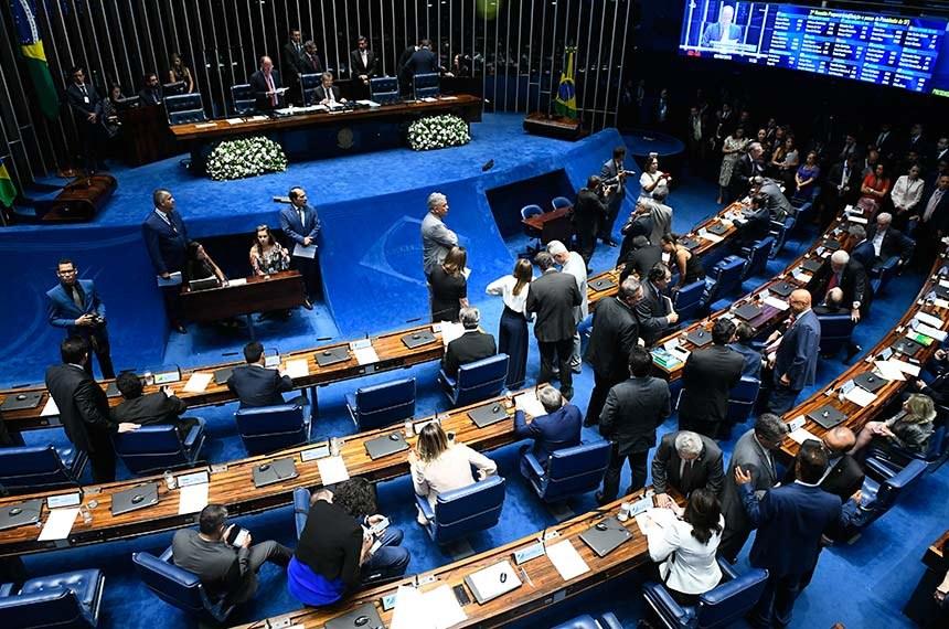 Senado aprova em 1º turno a Reforma da Previdência (PEC6)