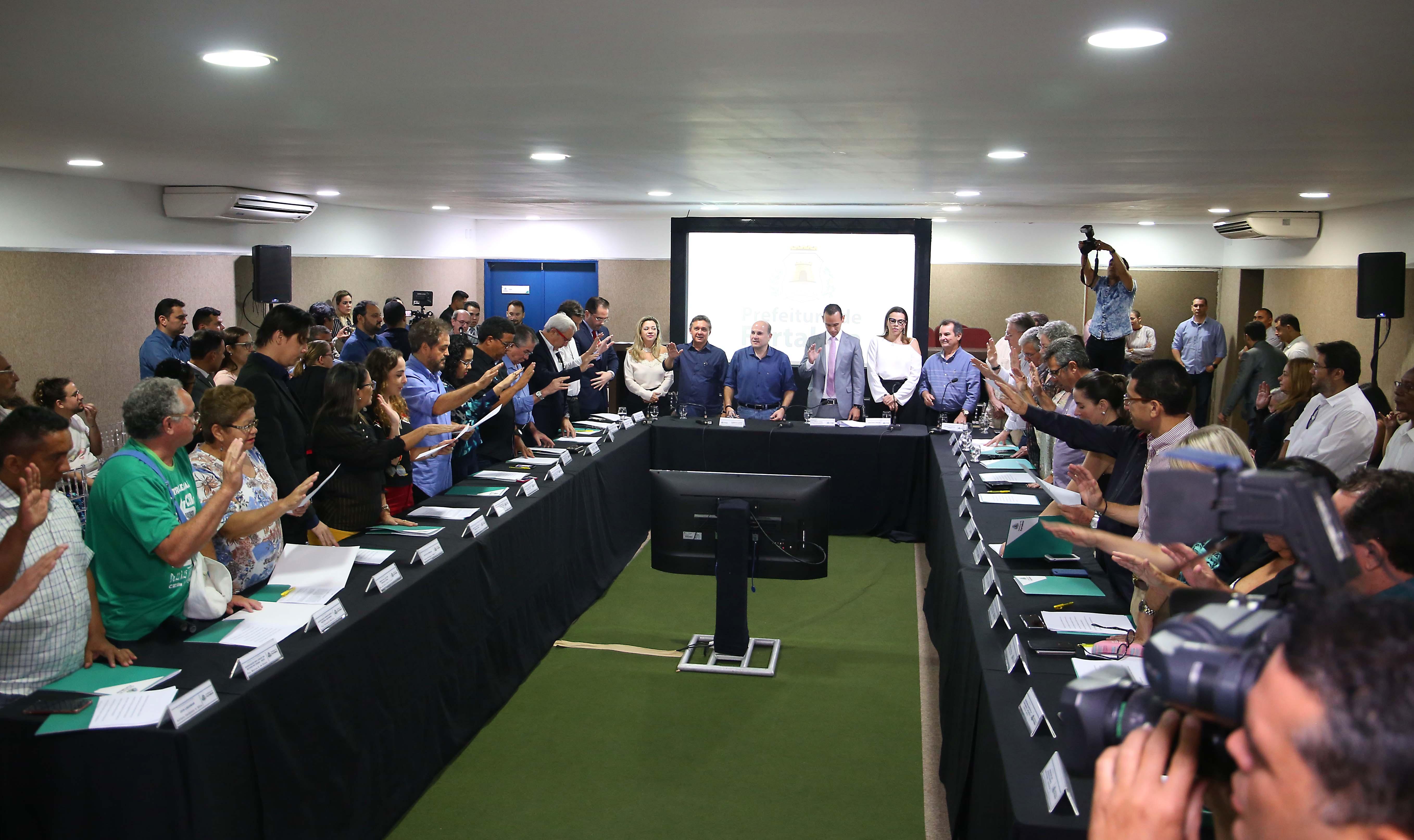 Presidente do Sinditaxi é empossado membro do Núcleo Gestor da Prefeitura de Fortaleza