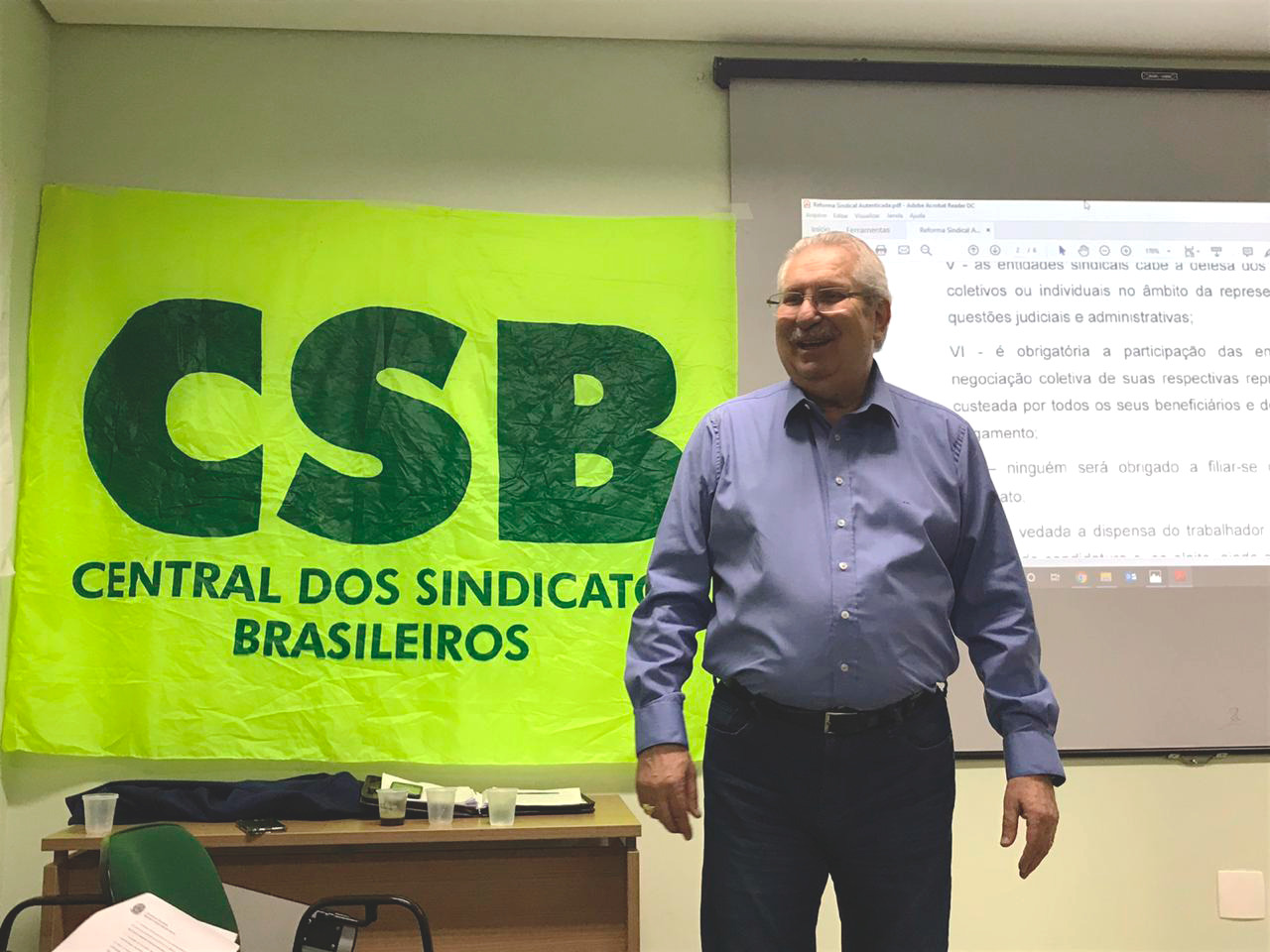 CSB-SP debate Reforma Sindical em Mogi Guaçu