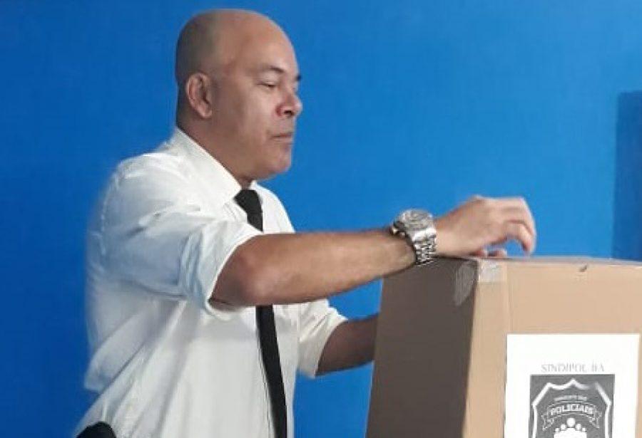 José Mário Lima é reeleito presidente do SINDIPOL-BA; Augusto Almeida é eleito vice