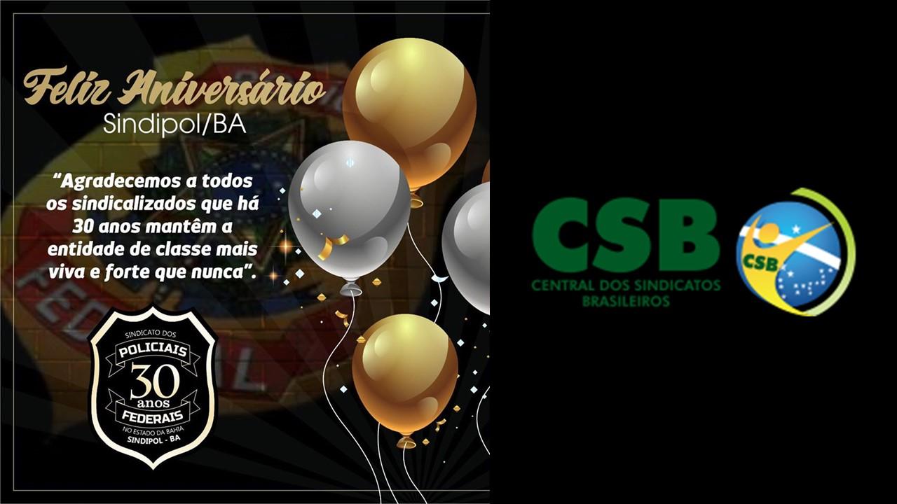 SINDIPOL-BA comemora 30 anos de fundação nesta quarta-feira (13)