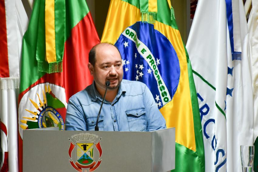 Em defesa da pauta trabalhista, Ariovaldo é o novo presidente da Câmara dos Vereadores de Lagoa Vermelha