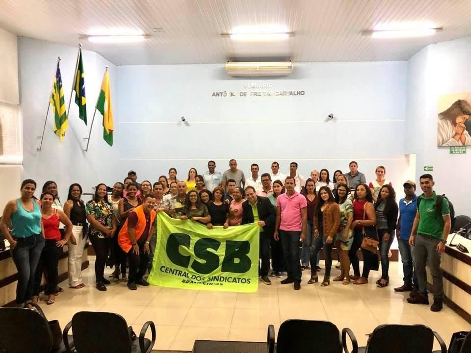 Sindicato dos Agentes de Saúde de Uruaçu/GO é o mais novo filiado à CSB