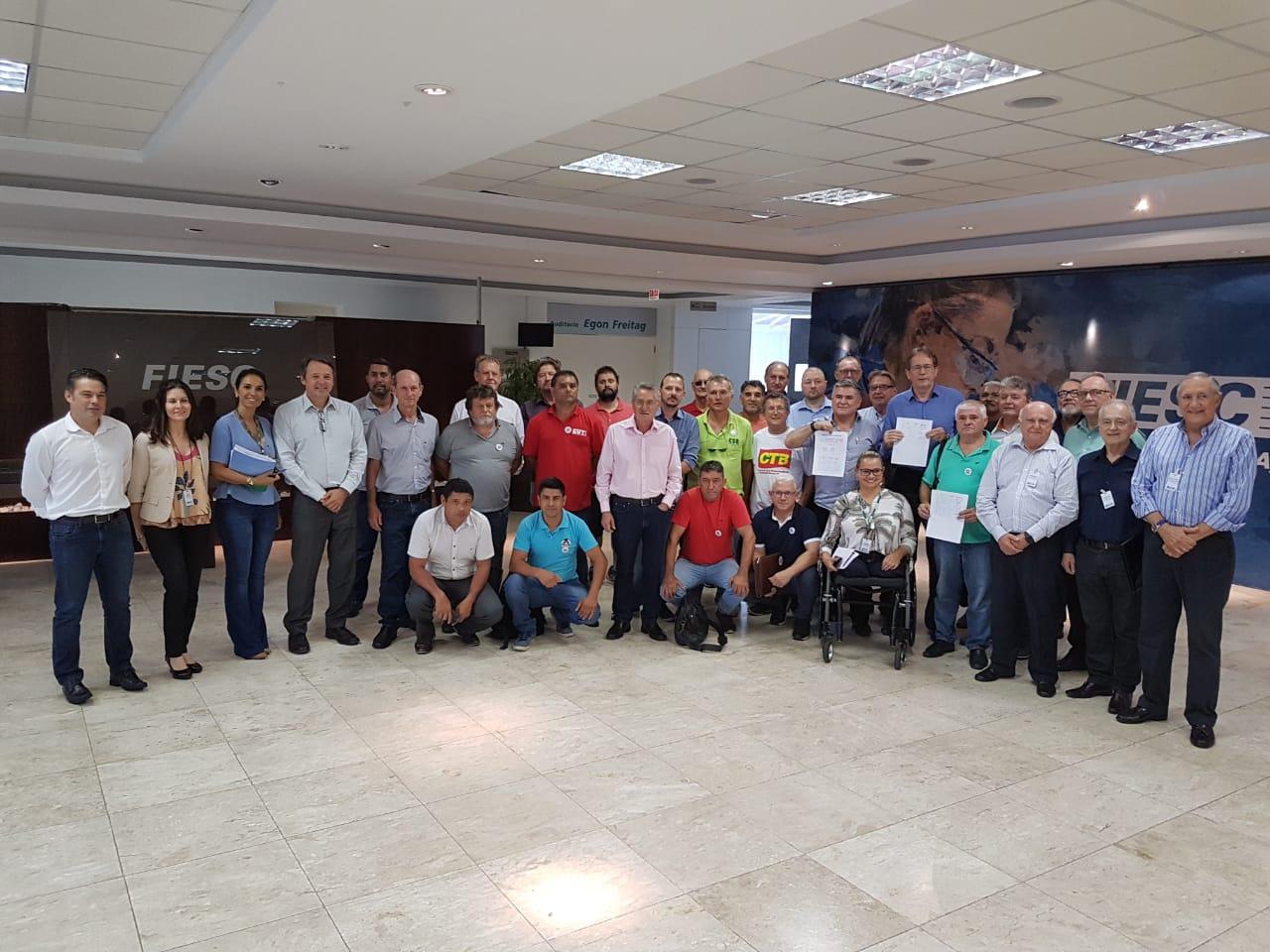 Trabalhadores de Santa Catarina conquistam reajuste do piso salarial