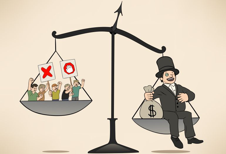 O preço da riqueza