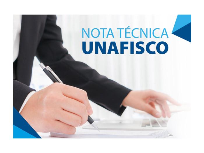 Nota Técnica – Unafisco sobre o imposto de renda