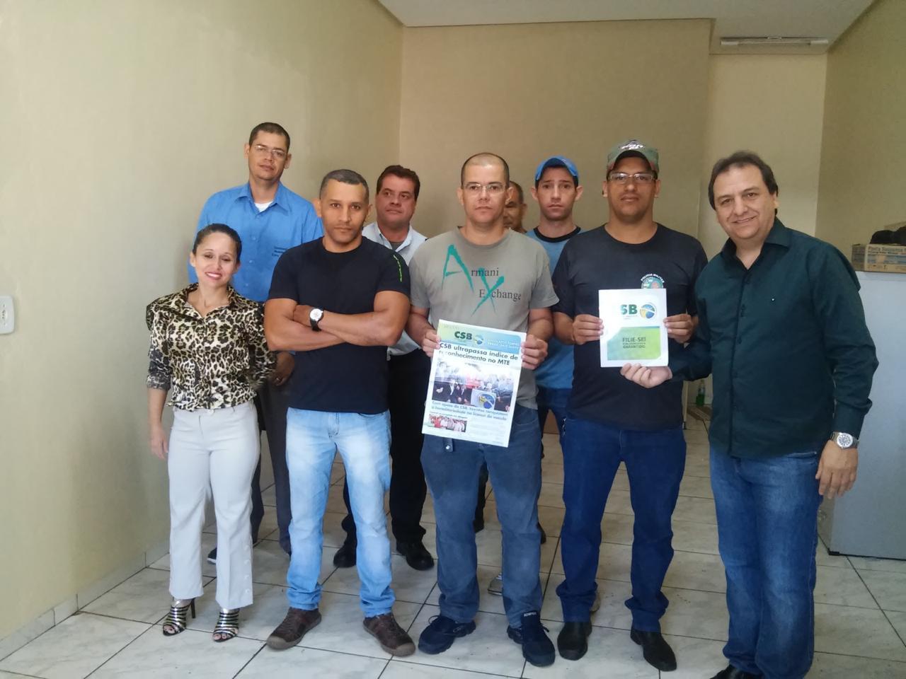 Sindicato dos profissionais de segurança de Rio Verde tem registro publicado