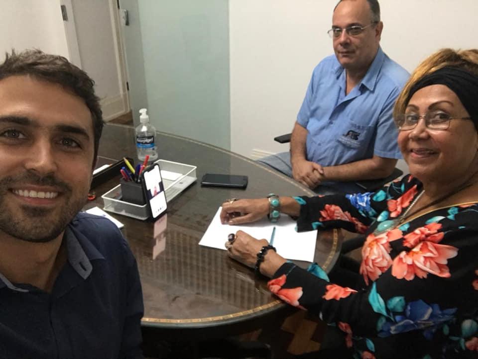 Centrais Sindicais se reúnem com Wilson Witzel para discutir crise do coronavírus