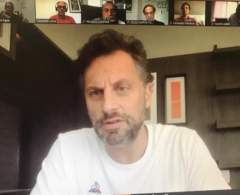 """CSB e centrais se reúnem com o coordenador do movimento """"Não Demita"""""""
