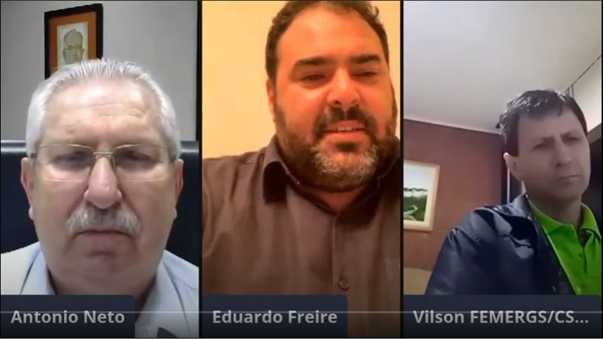Antonio Neto realiza live e debate a luta dos municípios contra o coronavírus