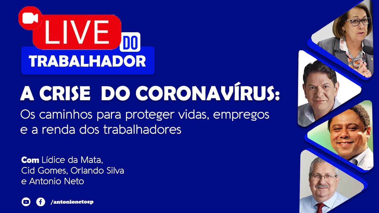 Lideranças discutem impactos causados pelo Governo Federal e na crise do coronavírus