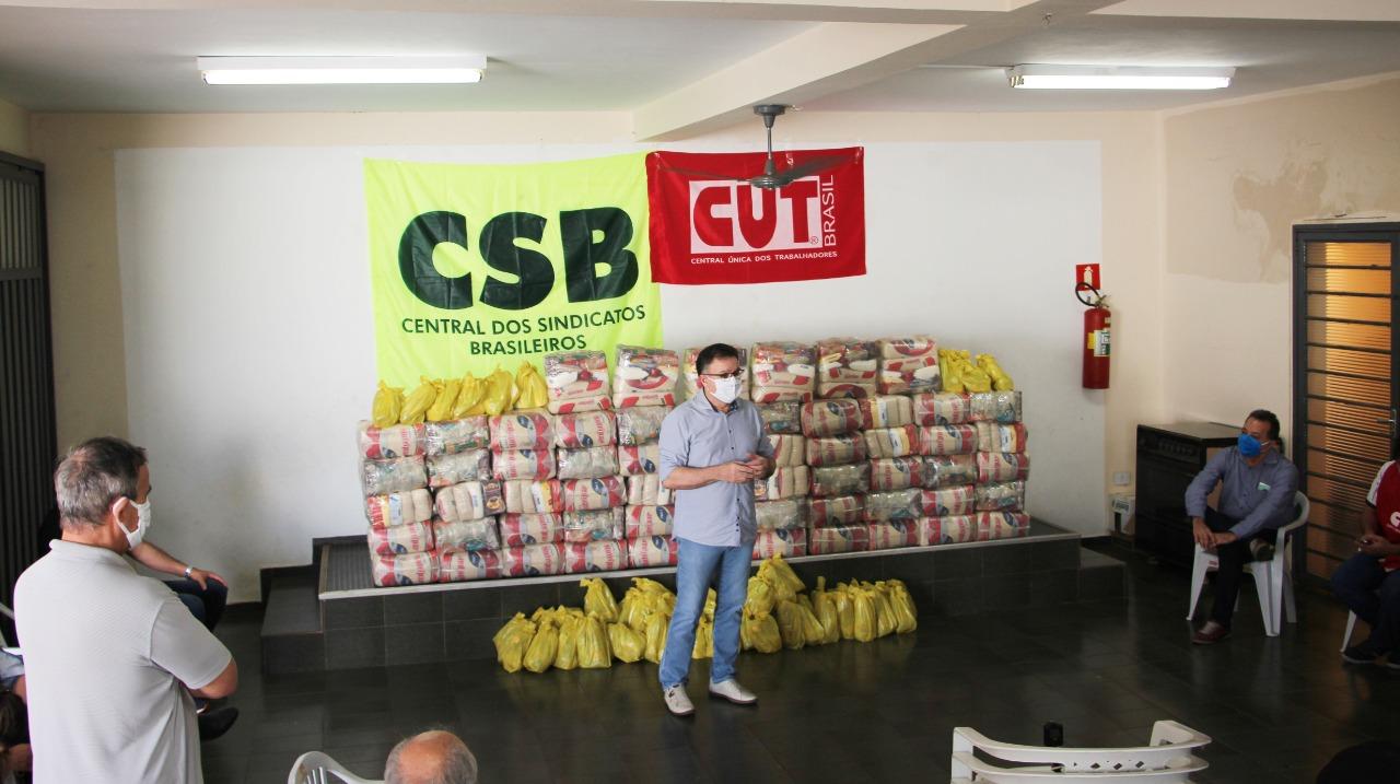 O Movimento Sindical de Presidente Prudente realiza campanha de doações 3