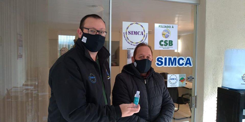 SIMCA distribuiu kits de proteção contra covid-19 aos servidores de Candiota-RS 3