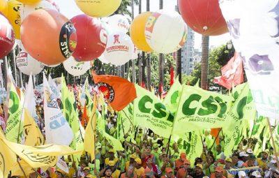 centrais sindicais pandemia coronavírus seguir unidos