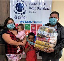 Sindicato dos Metalúrgicos de Birigui distribui 100 cestas básicas para famílias carentes 1