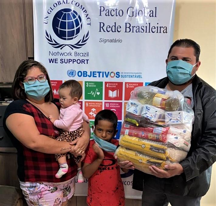 Sindicato dos Metalúrgicos de Birigui distribui 100 cestas básicas para famílias carentes 5