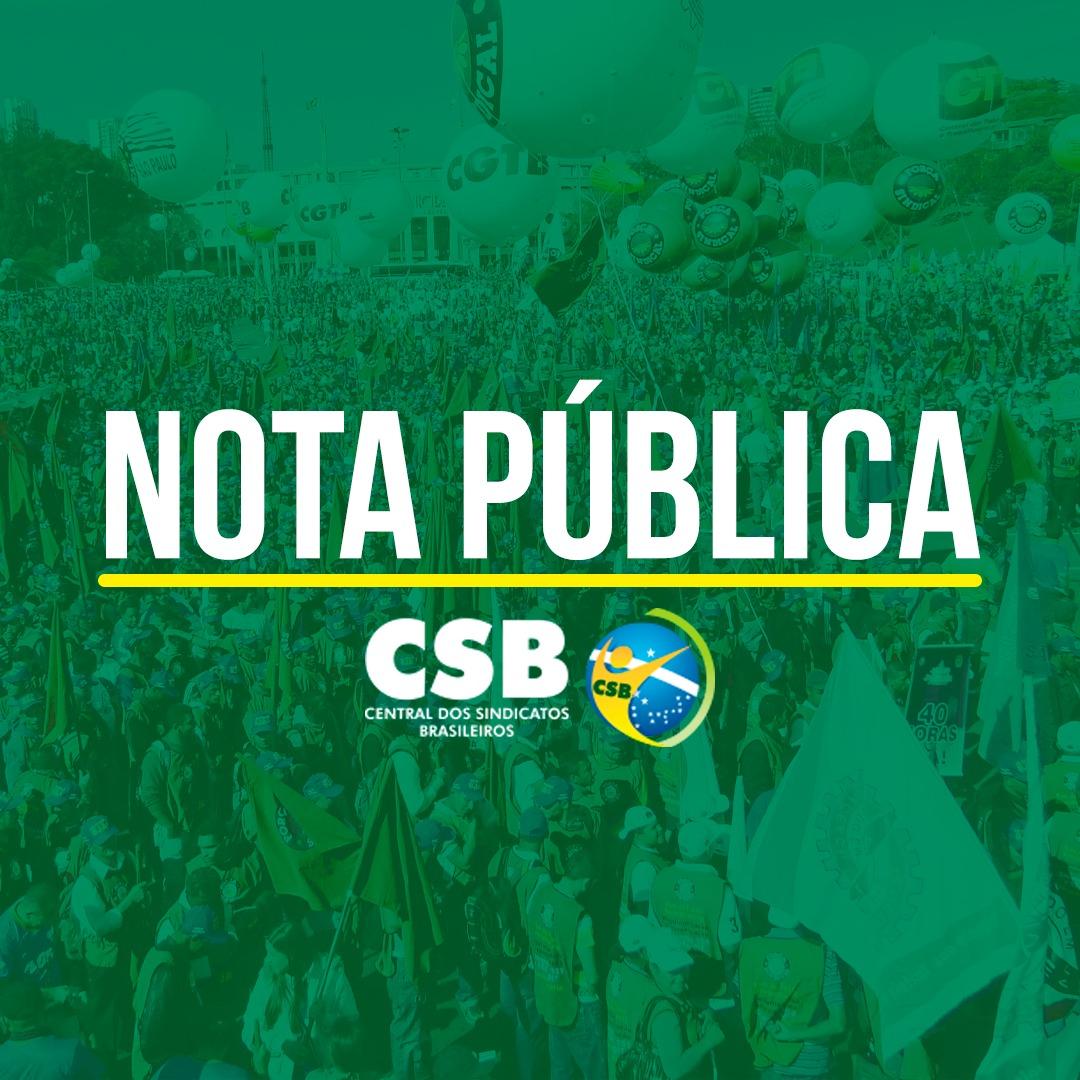 Nota Pública – Contra a decisão do Ministério da Economia