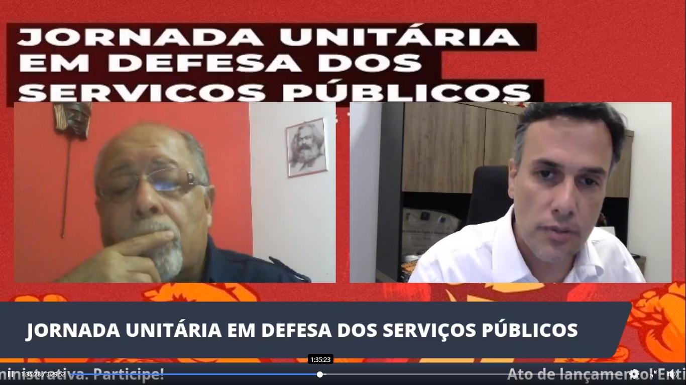Lançamento da Jornada em Defesa do Serviço Público conta com a presença da CSB