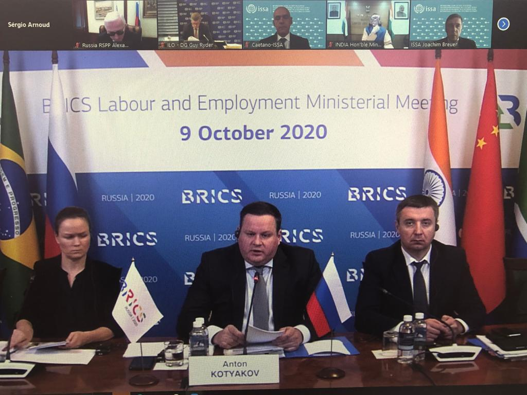 Lideranças sindicais discutem relações de trabalho com representantes dos Brics