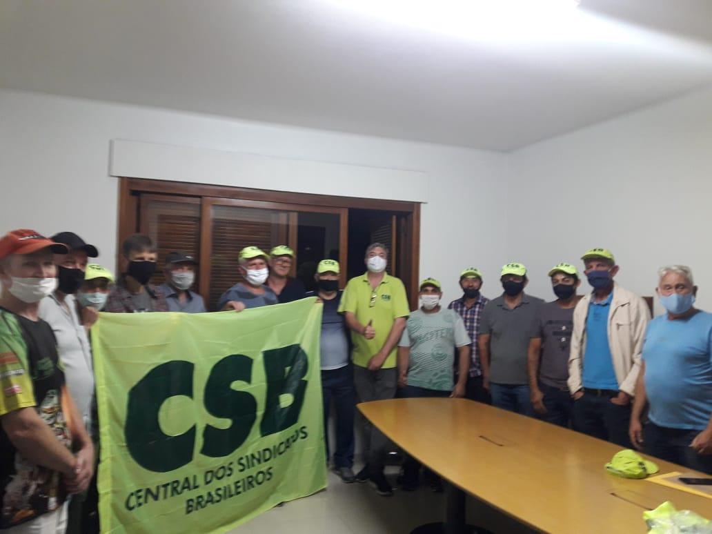 Sindicato da Construção Civil do Vale do Taquari se filia a CSB