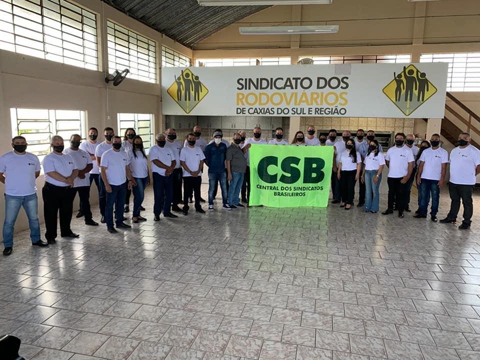 Diretoria apoiada pela CSB toma posse no Sindicato dos Rodoviários de Caxias do Sul e Região
