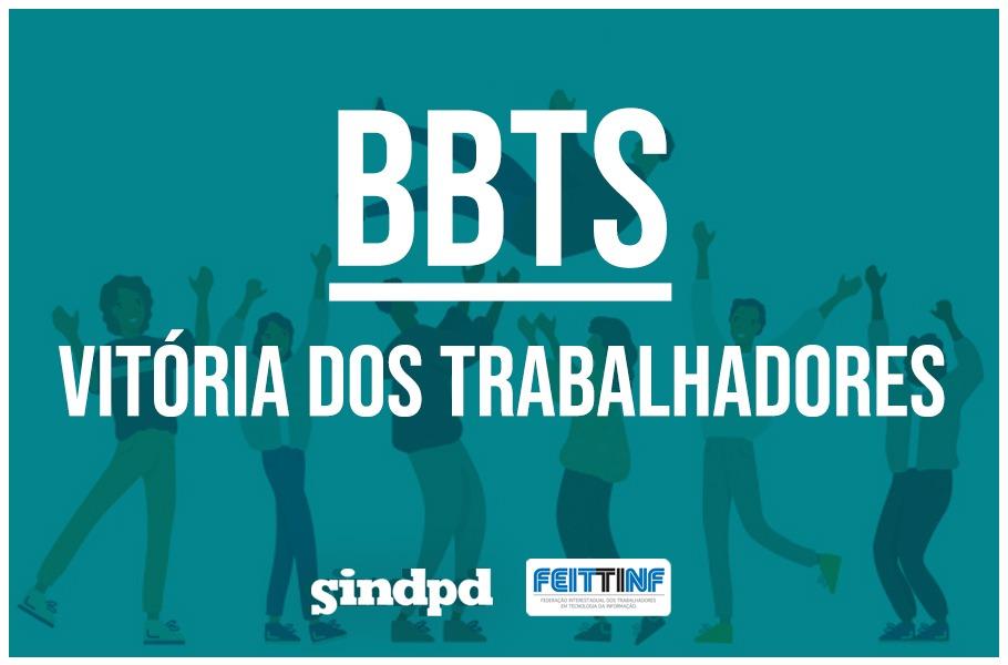 Trabalhadores da BBTS saem vitoriosos e conquistam reajuste justo