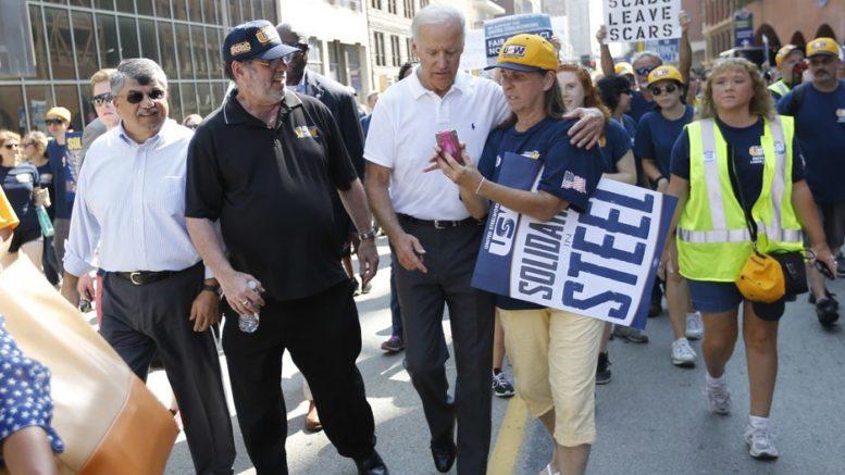 Biden quer fortalecer os sindicatos e as negociações coletivas