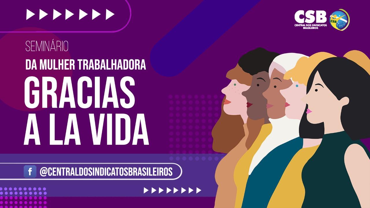CSB realizará seminário no Dia Internacional da Mulher