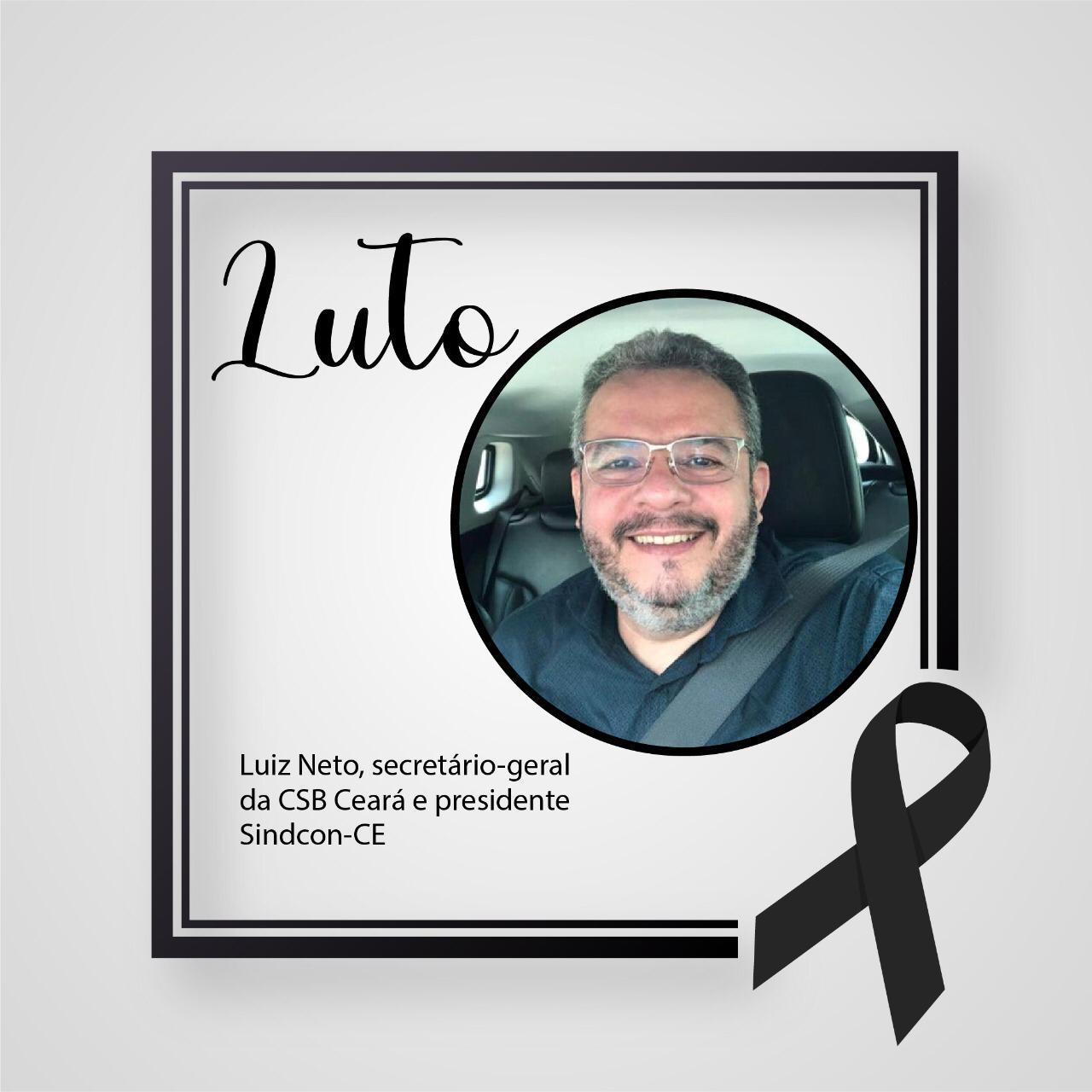 Nota de Pesar – Luiz Neto