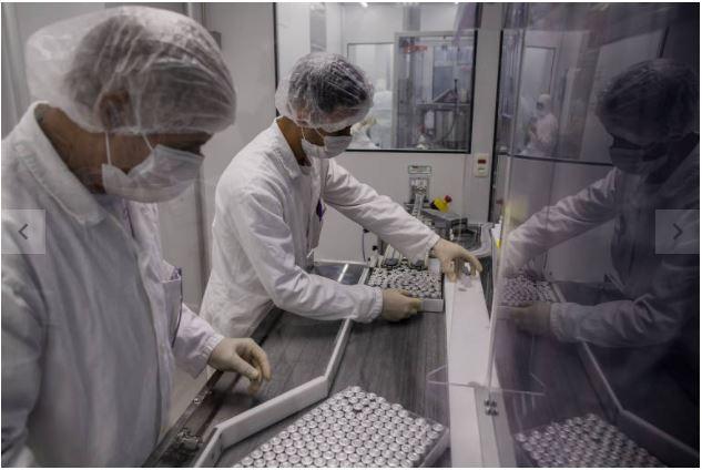 Chineses doam R$ 1,7 milhão a sindicatos brasileiros para ações contra a Covid-19
