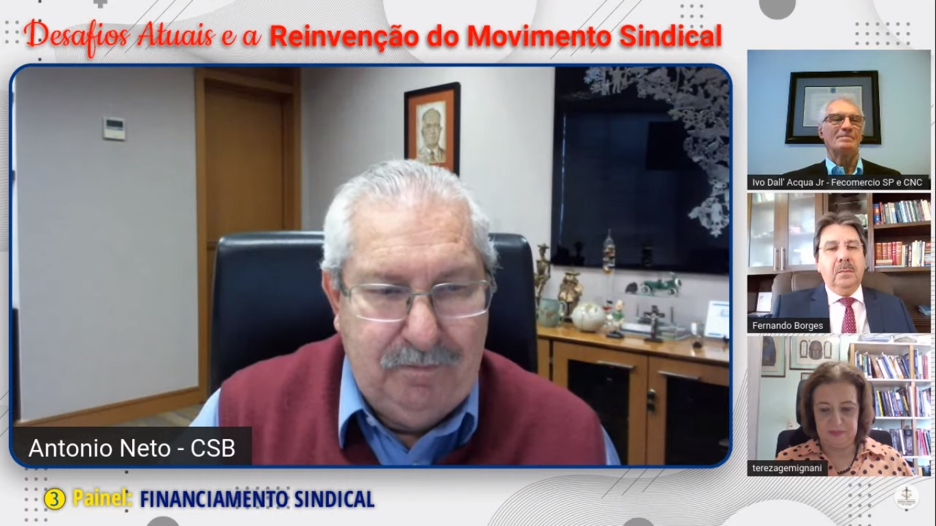"""Antonio Neto: """"o sindicato é para lutar pelos seus direitos"""""""