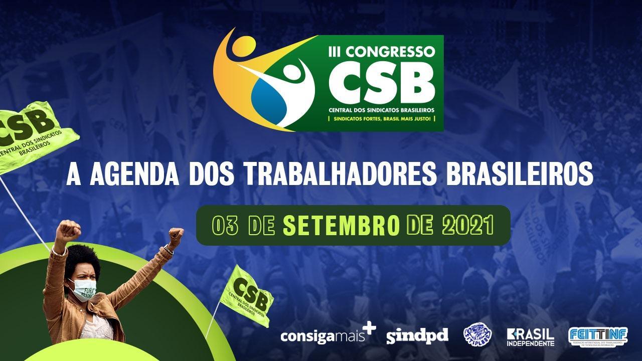 CSB recebe Eduardo Suplicy e presidentes de partidos em seminários nesta sexta (03)