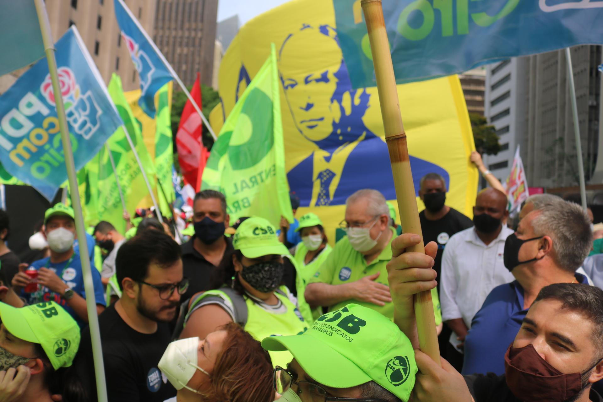 CSB engrossa atos pelo Fora Bolsonaro em todo o país